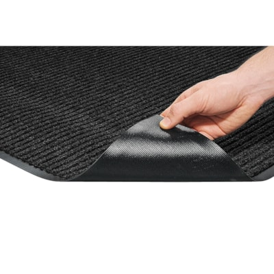 Mat Tech Needle-Rib Wiper/Scraper Entrance Mat, Charcoal, 3' x 5'