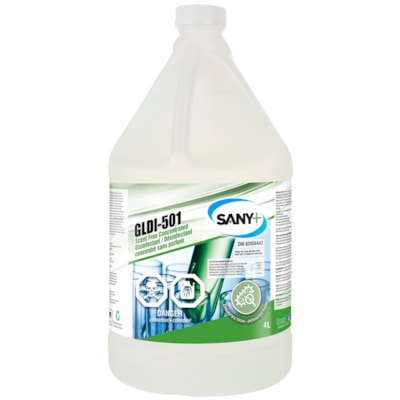 Sany+ Concentrated Disinfectant Cleaner, Scent Free, 4 L SANY+  SCENT FREE