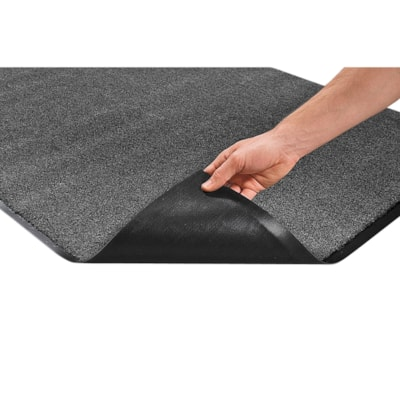 Mat Tech Proluxe Wiper Entrance Mat, Charcoal, 3' x 5'