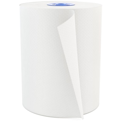 """Cascades PRO Perform 1-Ply Paper Towels for Tandem Dispenser, White, 7 1/2"""" x 600', 12/CT 12/CASE  600 FEET  WHITE"""