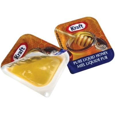 Kraft Single-Serve Pure Liquid Honey, 21 mL, 200/CS  200 / CASE