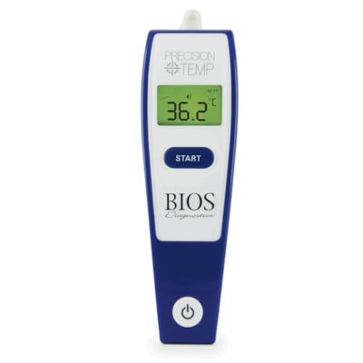 BIOS Living Precision Temp Instant Ear Thermometer with Bluetooth BLUETOOTH COMPATIBLE
