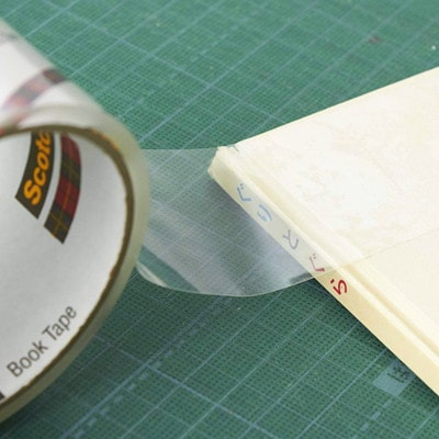 """Scotch Book Repair Permanent Tape, Transparent, 2"""" x 540"""" USE ON BOOKS MAGAZINES FOR BINDING EDGES AND MORE"""