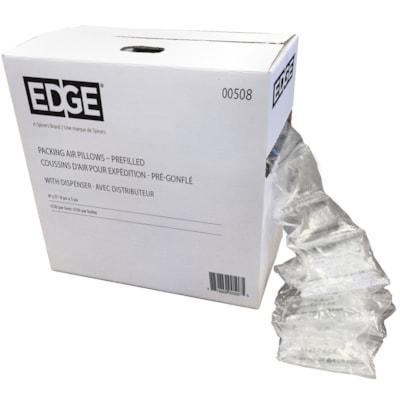 "Edge Air Pillow Dispenser Pack, 8"" x 5"", 150/BX PREFILLED AIR PILLOW 150/CS W/DISPENSER BOX"