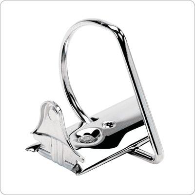 Reliures à anneaux en D inclinés de 1 1/2 po Performer ClearVue Cardinal, format lettre (8 1/2 po x 11 po), gris CARDINAL PERFORMER CLEARVUE D