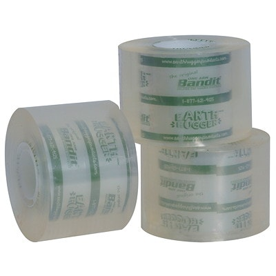 """Earth Hugger Shipping Tape Refill, 50.8 mm x 50.8 m, Pack of 3 ROLLS 3PK 2""""X55YDS EA WORKS WITH BANDIT  TAPEGUN"""