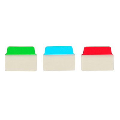 """Avery UltraTabs Repositionable Multi-Use Tabs, Assorted Primary Colours, 2"""" x 1 1/2"""", 48/PK PRIMARY COLS GREEN  BLUE  RED"""