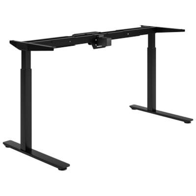 HDL Olympus Electric Height-Adjustable Table 2-Leg Base, Black BLACK FINISH 27.75 TO 45.5 H ADJUST