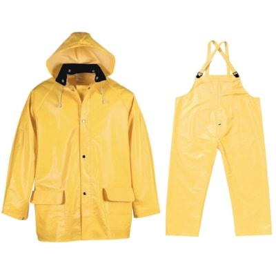 Viking PVC Handyman Suit, 3XL, Yellow .35MM INDUSTRIAL QUALITY YELLOW