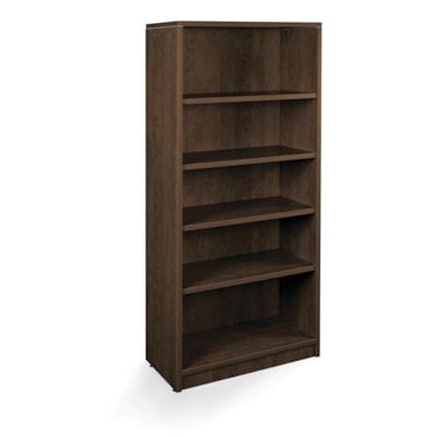 """HDL 5-Shelf Evening Zen Bookcase EVENING ZEN FINISH 32""""W X 14""""D X 72""""H"""