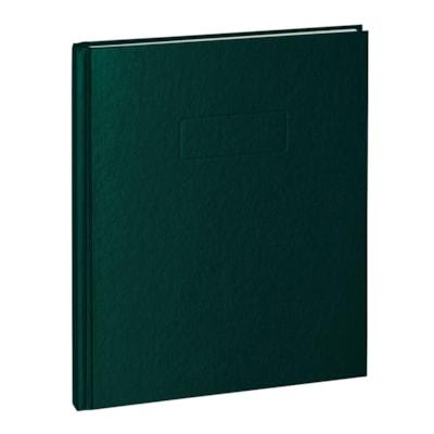 Cahier A9 Blueline COUV.VINYL DUR RÉGLÉ CHARNIÈRE RENFORCÉE AVEC MARGE 192 PAGES