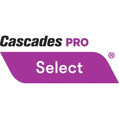 "Cascades PRO Select 2-Ply Standard Bathroom Tissue Rolls, White, 48/CS (4"" x 3 1/5"" per sheet) 500 SHEETS  2 PLY  4 X 3.2 CASCADES PRO SELECT"