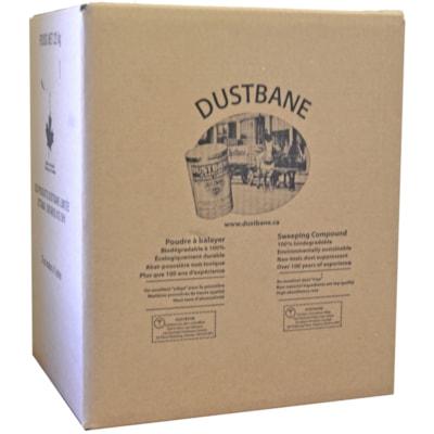 Poudre à balayer Dustbane 100% BIODEGRADABLE GREEN COLOR POWDER UNSCENTED