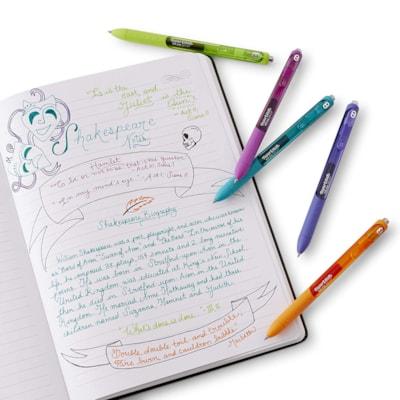 Paper Mate InkJoy Gel Retractable Pen, Blue, Medium 0.7 mm OPEN STOCK  PAPER MATE