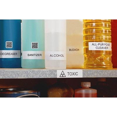 DYMO LabelWriter Durable Coated Polypropylene Shelving Labels COATED POLYPROPYLENE LABELS