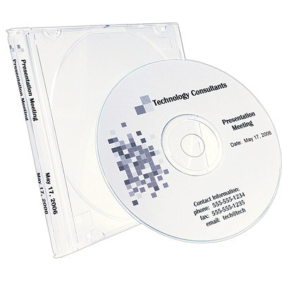 "Avery 5584 Matte Permanent CD Labels, Matte White, 4 5/8"" Diameter, 2/4 Labels/Sheet, 100 Sheets/BX PERMANENT 200DISC LABELS/BX 400SPINE LABELS SOFTWARE INCL."