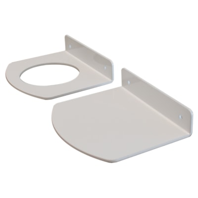 """Northern Specialty Supplies Bottle Holder Accessory Kit, White, 3"""" USE WITH 873-468001 POWDER COATED  WHITE GLOSS"""