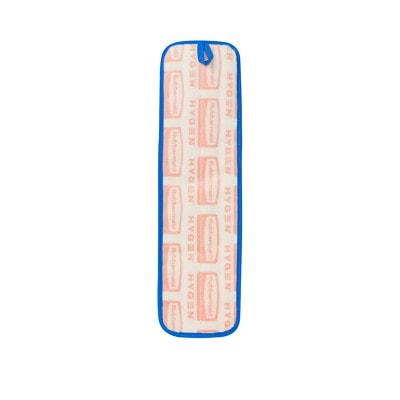 "Rubbermaid HYGEN Microfibre Wet Pad 18"" MOP BLUE"