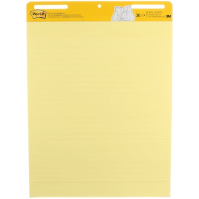 "Post-it Super Sticky Self-Stick Easel Pad 25""X30"" 30 SHEETS/PAD SELF- STICK"