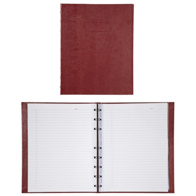 Carnet MiracleBind Blueline ROUGE. 150 PAGES FORMAT : 9-1/4 X 7-1/4