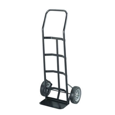 Safco Tuff Truck Economy Hand Truck With Continuous Handle CAP ASSEMBLED BLACK 19.5W X 14.5D  X 45.5H