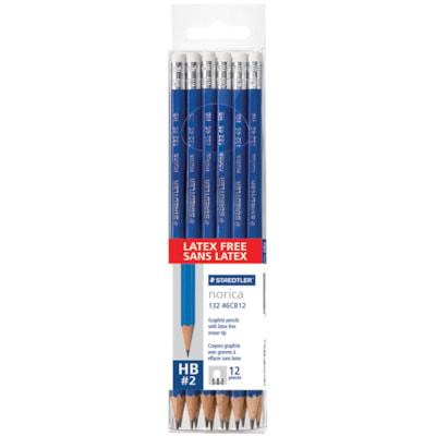 Staedtler Norica Latex-Free Pencils GRAPHITE  LATEX FREE ERASER