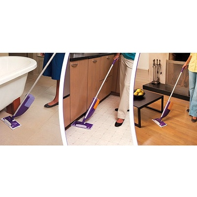 Swiffer WetJet Cleaner Solution Refills, Multi-Surface, Sweet Citrus and Zest Scent, 1.25 L ALL PURPOSE