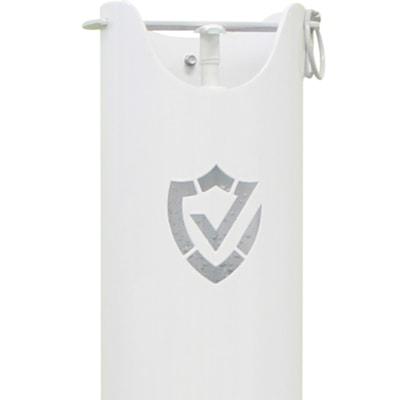 "Northern Specialty Supplies Hand Sanitizer Dispenser Tower, White/Silver, 39"" WHITE/SILVER  39.3""H"