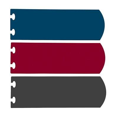 Carnet à réglure large avec couverture à double volet rabattable Versa Ampad MARINE  FORMAT LETTRE 60 FEUILLES RÉGLÉES LARGE