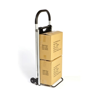 """BIOS Living 2-in-1 Step Stool and Ladder CONVERTS TO A HAND TRUCK DIMENSIONS 38½""""X20""""X3½""""-18"""""""