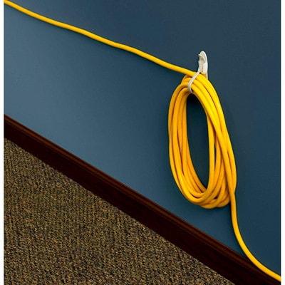 Crochets adhésifs pour cordons enroulés Command 2/PAQUET  3 BANDES ADHESIVES JUSQU'A 1 KG/2 LB
