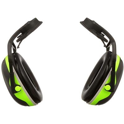 Protecteurs d'oreilles série X PELTOR 3M X4P5E  BLACK/CHARTREUSE