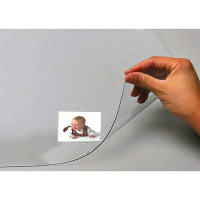 """Artistic Second Sight II Economy Desk Pad Protector Film, Clear, 20"""" x 36"""""""