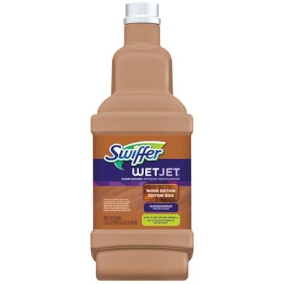 Swiffer WetJet Cleaner Solution Refills, Wood Edition, Blossom Breeze Scent, 1.25 L FLOOR CLEANER