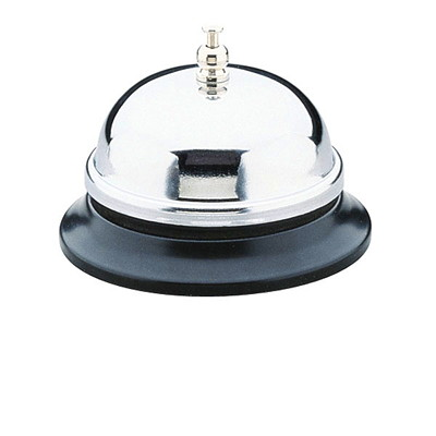 OpMark Desk Bell WITH BLK BASE FOR SCHOOL HOTEL ETC.