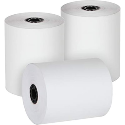 """McDermid Point of Sale Thermal Rolls, 3 1/8"""" x 200', 50/CT 50/CRT"""