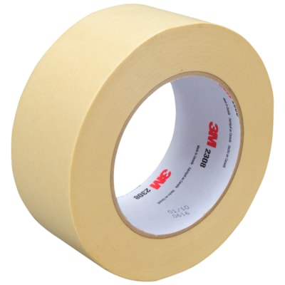 3M Performance Masking Tape (2308), Tan, 48 mm x 55 m