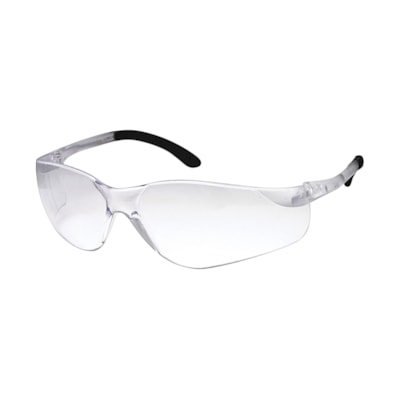 Dentec SenTec Safety Glasses, With Clear Lens LENS  90801 CSA  RUBBERIZED TEMPLE TIPS