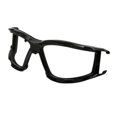 Dentec CeeTec Safety Glasses with Vended Foam Carrier, Black Frame  CARRIER  FOAM CSA
