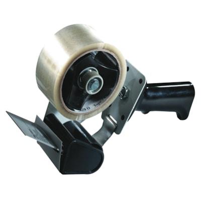 Tartan Pistol Grip Box Sealing and Packaging Tape Dispenser, Black PISTOL GRIP FOR 48MM TAPE ADJ. BREAKING MECHANISM TAPE NOT IN