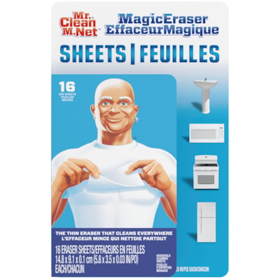 Mr. Clean Magic Eraser Sheets, 16 Sheets per Pack 16 SHEETS PER PACK