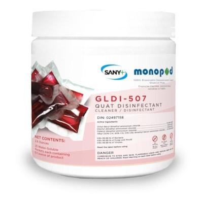 Sany+ MonoPOD Hospital Grade Disinfectant, 25/PK HOSPITAL GRADE