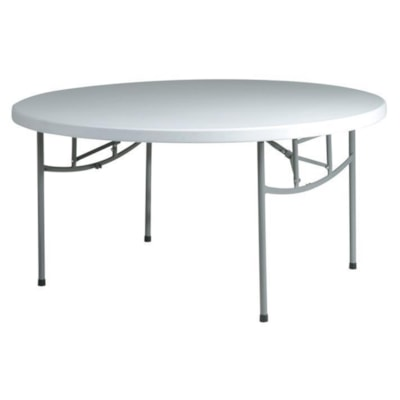 Office Star Work Smart Resin Multi-Purpose Tables LIGHTWEIGHT CONSTRUCTION IDEAL FOR INDOOR/OUTDOOR USE