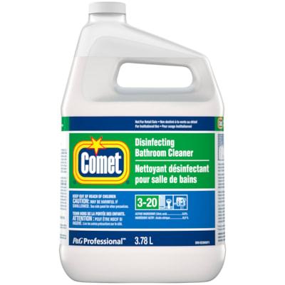 Comet Disinfecting Liquid Bathroom Cleaner, Closed Loop, 3.78 L, 3/CS CLOSED LOOP