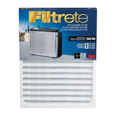 3M Filtrete Replacement Filter for OAC150 Office Air Cleaner AIR CLEANER OAC150