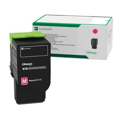 Lexmark Magenta Return Program Toner Cartridge (C2310M0) RETURN PROGRAM CARTRIDGE 1000 PG YIELD