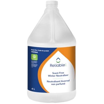 Reliable Winter Neutralizer, Scent Free, 4 L