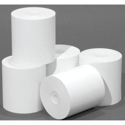 """Rouleaux de papier bond McDermid 165PI  12/PQT  PAPIER BOND SANS REVÊTEMENT 2-3/4""""DIAMÈTRE"""
