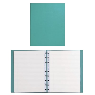 Carnet MiracleBind Blueline REL.SPIR.DB  COUV. RIGIDE TURQUOISE  9-1/4X7-1/4  150P.