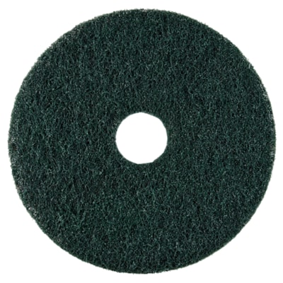"""Dustbane Floor Maintenance High Performance Conventional Stripping Pads, Emerald Green, 19"""", 5/CT"""